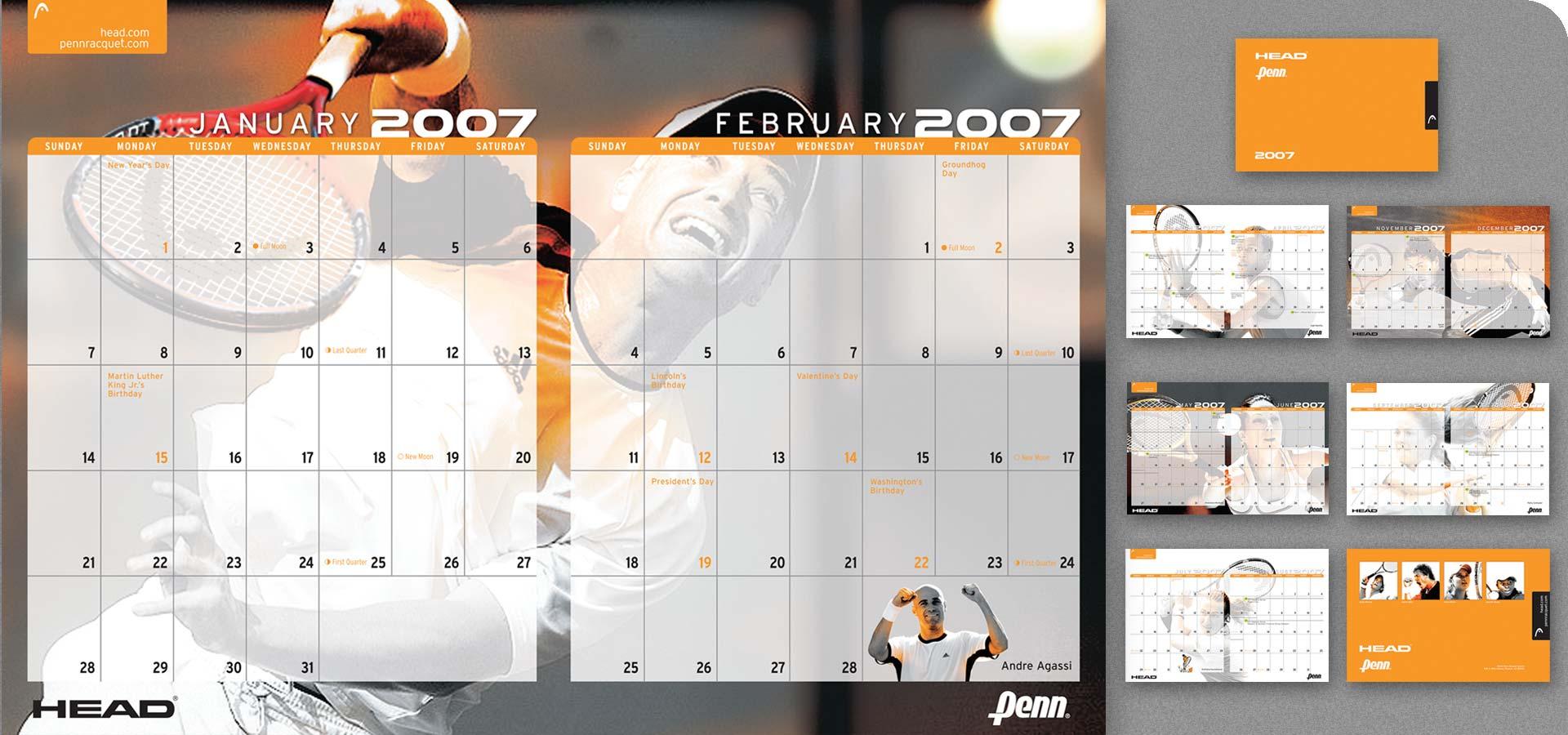 Calendar Head Design : Head penn calendar creative harvest