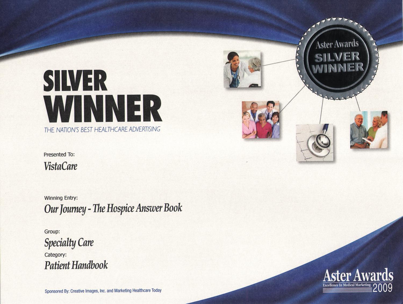 2009 Aster Award - Silver