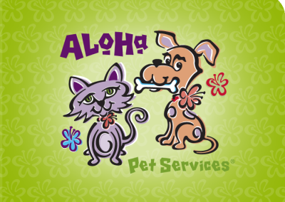Aloha Pet Services logo