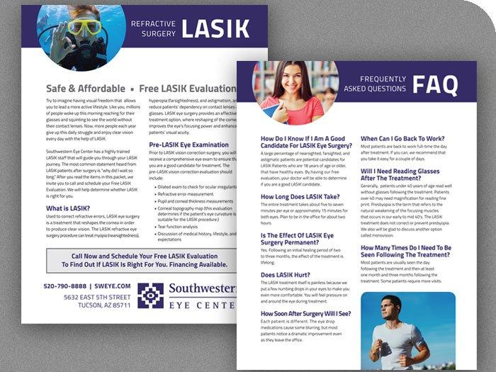 Southwestern Eye Center LASIK Info Sheet
