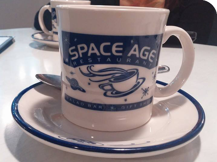 Space Age Restaurant Coffee