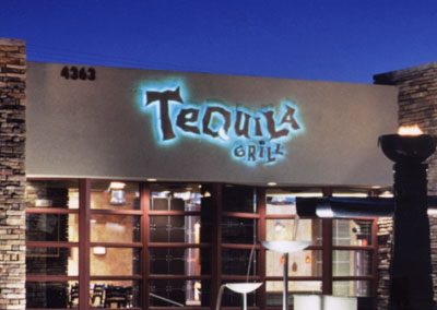 Tequila Grill Logo Sign