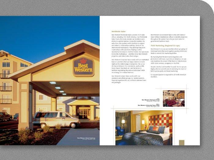 Best Western Brochure Spread - Grant Creek Inn