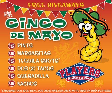 Cinco De Mayo at Players
