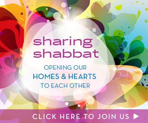 Sharing Shabbat Facebook Newsfeed Graphic