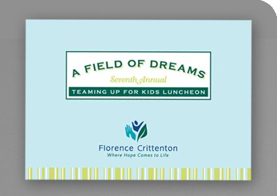 Treaming Up for Kids Luncheon Invitation