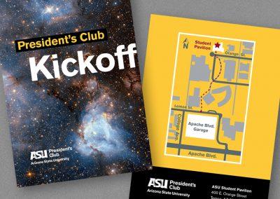 President's Club Kickoff Invite