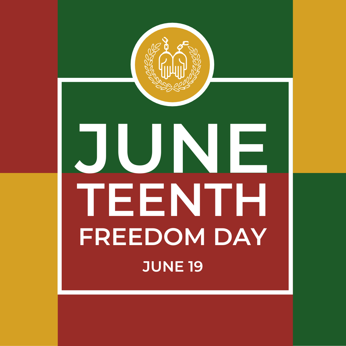 Juneteenth Freedom Day option2