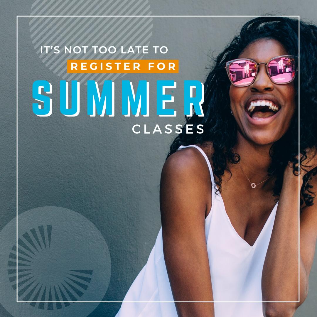 CGCC Flexible Summer Start social graphic